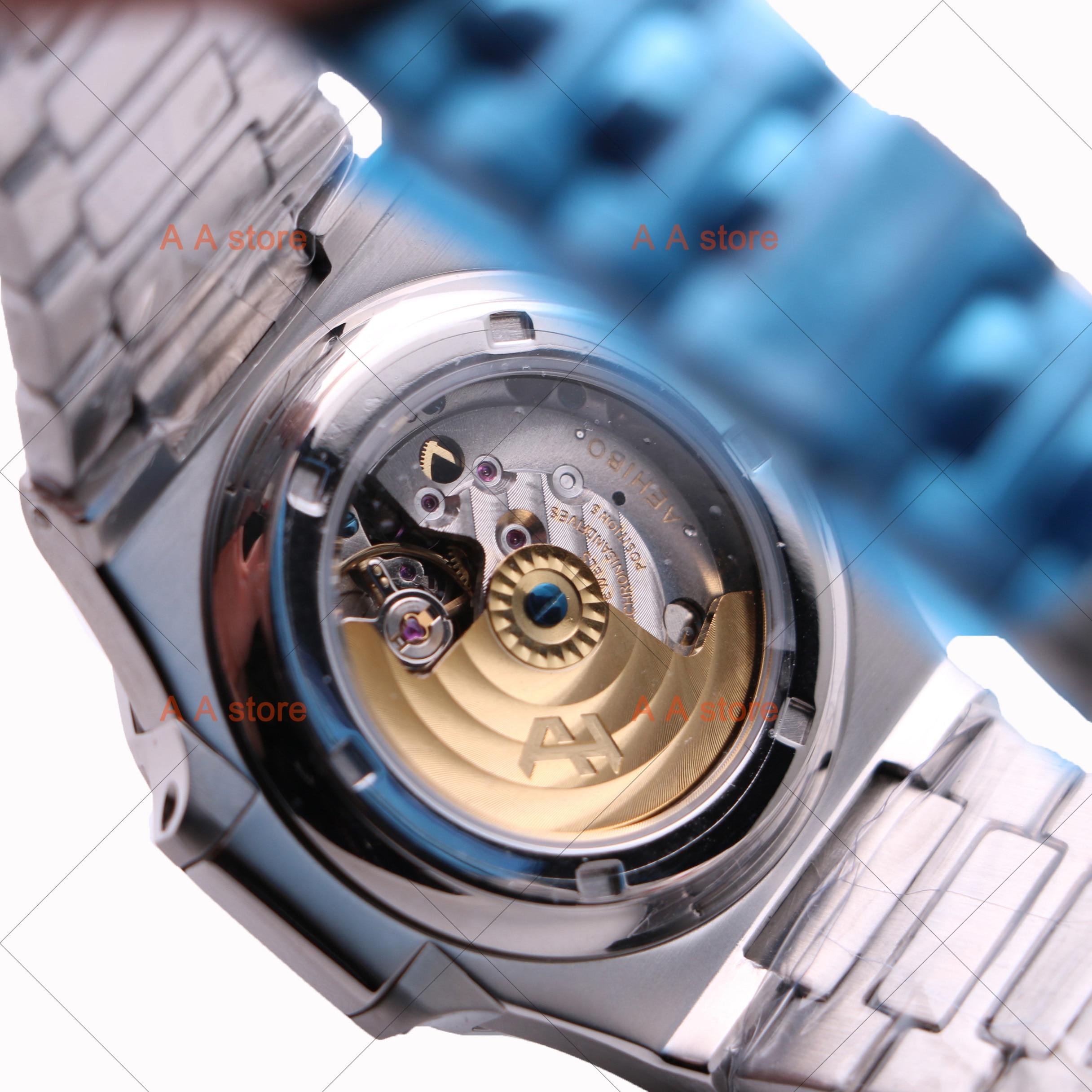 Zegarek AAA luksusowej marki zegarek geneva 5711 PP zegarek męski ruch miyota szafirowe szkło darmowa wysyłka