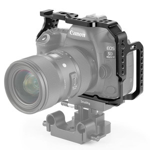 Image 2 - SmallRig Protective Cage for Canon 5D Mark III IV Camera With Bulit in NATO Rails Arca Swiss Plate   2271