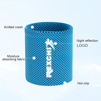 1pcs Wrist Brace Support Breathable Ice Cooling Sweat Band Tennis Wristband Wrap Sport Sweatband For Gym Yoga Volleyball 11