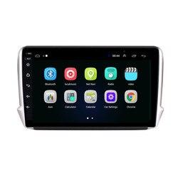 4G LTE Android 10,1 для Peugeot 2008 208 серии 2012-2018 Мультимедиа Стерео DVD плеер навигация GPS радио