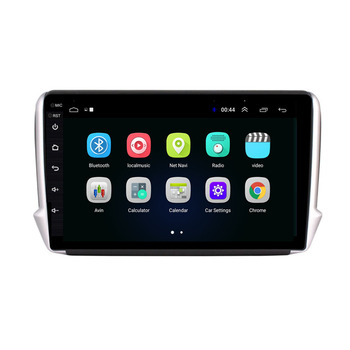 4G LTE Android 10.1 For Peugeot 2008 208 Series 2012-2018  Multimedia Stereo Car DVD Player Navigation GPS Radio