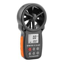 Цифровой анемометр ручной Ветер Скорость метр bt 100 для измерения
