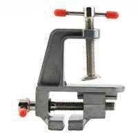 Portable Aluminum Alloy Table Vise Metal Clamp Locksmith Clip DIY Parts