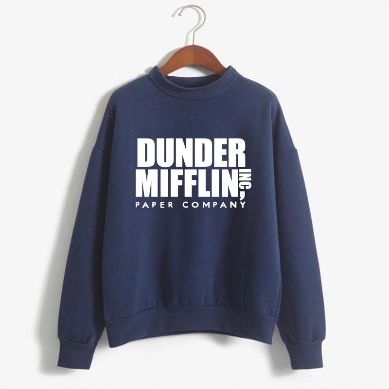 Tops The Office Tv Hoodie Men Women Dunder Mifflin Inc Paper Company Wernham Hogg TV Show Michael Scott Space Sweatshirt 12