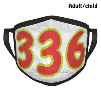 336 Area Code Fashion Print Funny Pm2.5 Reusable Face Mask Winston Salem Winston Salem Nc North Carolina North Carolina image