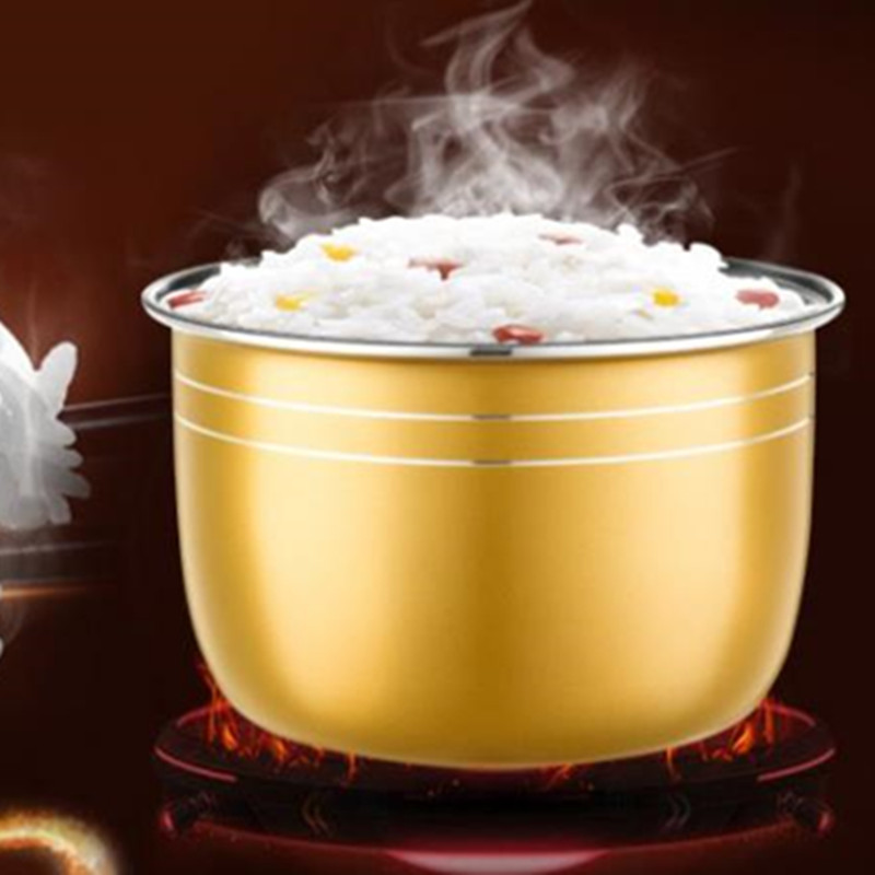 5L Rice Cooker Tank For Intelligent Control Rice Cookers Pot Gold Inner Tank Energy Gathering Bowl