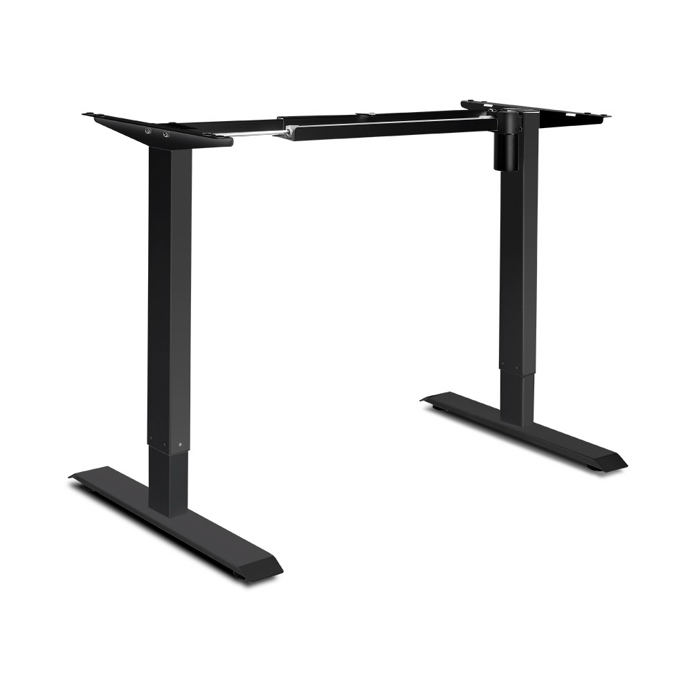 Motorised Height Adjustable Electric Standing Desk Frame Easy Set-Up High Quality Powder-Coated Frame Ideal For Home Office A2