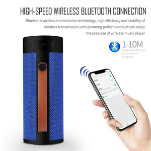 Image 3 - Finlemho T4 Wireless Speaker Bluetooth Stereo USB Outdoor Portable Loudspeaker AUX TF Input With Mobile Phone Multi Purposed