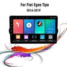 لشركة فيات EGEA TIPO 2015 2018 9 بوصة 2 الدين أندرويد 8.1 سيارة مشغل وسائط متعددة Wifi الملاحة لتحديد المواقع Autoradio رئيس وحدة ستيريو