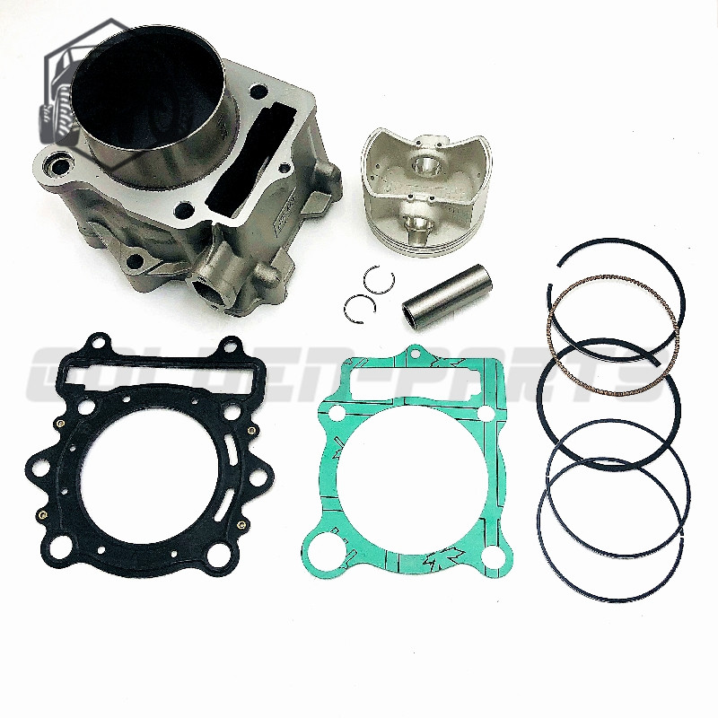 Комплект для ремонта цилиндров HISUN 400cc HS400, поршневое кольцо, штифт, прокладка, подходит для квадроциклов UTV масла BENNCHE
