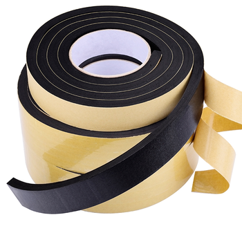 EVA sponge single-sided tape shockproof foam sealant strip 2-10MM car pad sound insulation buffer anti-collision - discount item  18% OFF Hardware