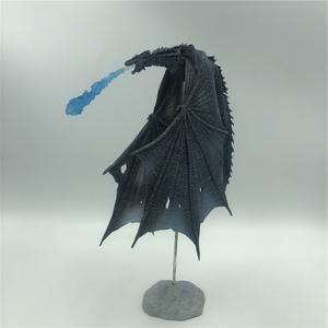Image 2 - 19cm  Season 8 Viserion Ice Dragon Joint Movable PVC Figure Nights King Knight Model Collective Toys
