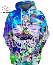 PLstar Cosmos anime  Aurora Gayle 3d hoodies/shirt/Sweatshirt Winter autumn funny Harajuku streetwear
