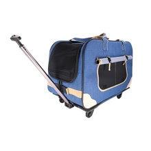 Переноска для домашних животных переноска собак сумка на колесиках