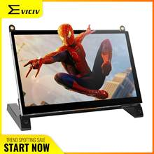 """EVICIV 7"""" Portable Monitor HDMI Raspberry Pi IPS Screen External for Laptop Computer Second Display PS4 Xbox Desktop Spider Man(China)"""