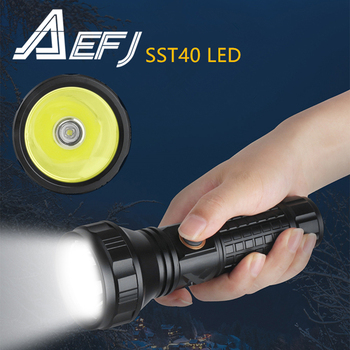 Super Bright SST40 LED Flashlight 3-Mode Rechargeable 26650 Torch 1600ML Tactical Bike Light for Camping Hunting сандалии super mode super mode su013awfbkl4