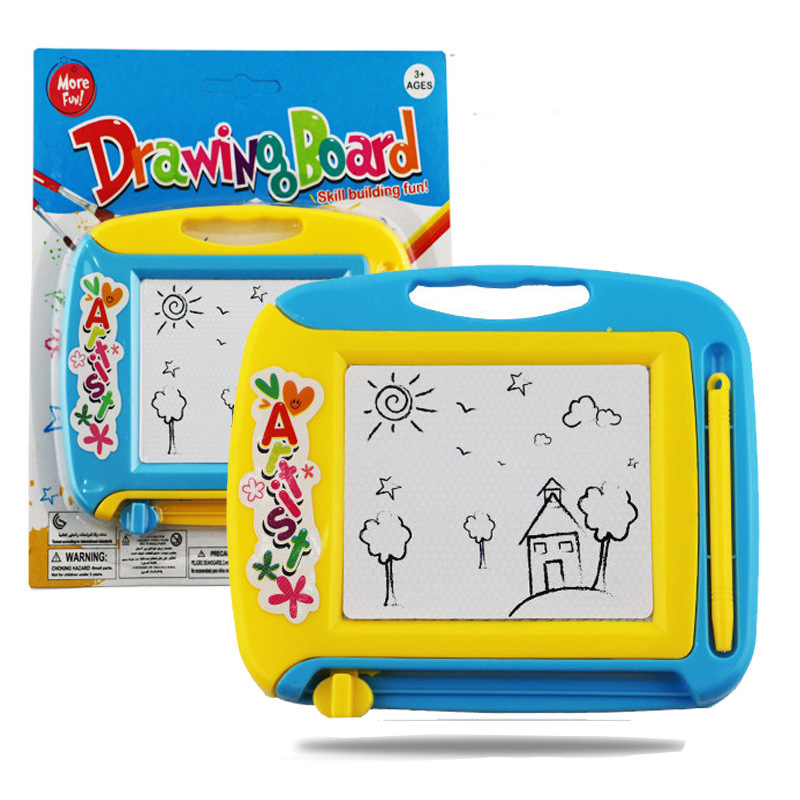 Children Doing Homework Sketchpad Magnetic Drawing Board Mini ENLIGHTEN Early Education Magnetic Drawing Board Graffiti Sketchpa