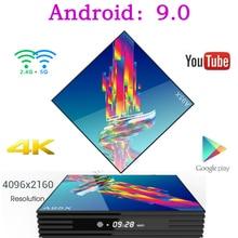 Buy A95X R3 Smart Tv Box Android 9.0 Set Top Box 4K 3D Mi ni Tv Box 2gb 4gb 32gb 64gb Quad Core media player PK X96 HK1 Max mi IPTV directly from merchant!