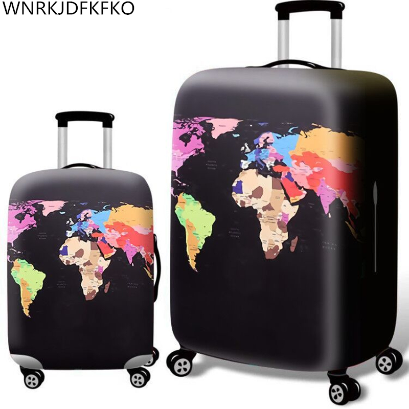 Thicken Suitcase Protective Covers For 18-32 Inch Suitcase Suitcase Travel Bag Trolley Elastic Luggage Cover