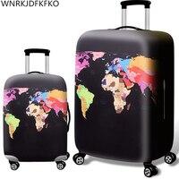 Verdicken Koffer Schutz Abdeckungen Für 18-32 inch Koffer Koffer Reisetasche Trolley Elastische Gepäck Abdeckung