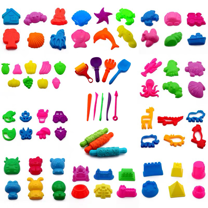 Kinetic Sand Sand Model Clay Tools DIY Slime Polymer Clay Sculpting Tools All For Slimes Indoor Plasticine Sand Children's Toys