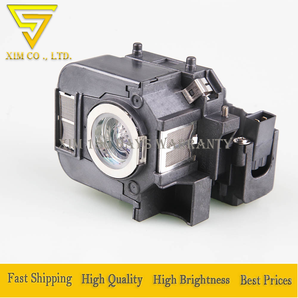 Replacement ELPLP50 / V13H010L50 Projector Lamp With Housing For EPSON EB-824 EB-825 EB-825H EB-826W EB-84 EB-85 EMP-825 Ect.