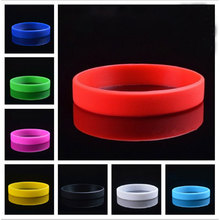 Creative New 12 Colors Fitness Power Bands Energy Bangles Men Basketball Sports Wristbands Silicone Rubber Elasticity Wristband