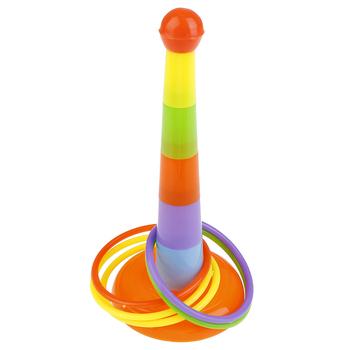 Hoop Ring Toss plastikowy pierścień Toss Garden Game zabawka basenowa zabawa na świeżym powietrzu zestaw zabawek dla dzieci prezent dla dzieci chińskie klasyczne zabawki tanie i dobre opinie Z tworzywa sztucznego Chwytając ruch zdolność rozwoju 3 lat Skoki pierścień