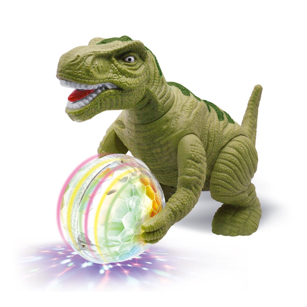 New Electric Running Dinosaur Light Music, Children's Interactive Dinosaur Toy Gift, High Quality