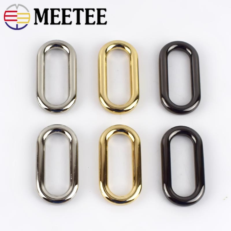 Supplies Pet Collar Webbing  O Ring Sewing Accessories  Bag Parts Metal Buckle