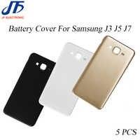 5 teile/los J3 J5 J7 2015 Zurück Batterie Hintere Abdeckung Ersatz Für Samsung Galaxy J310 J510 J710 2016 Gehäuse Tür chassis teile