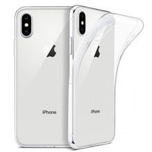 Funda de TPU suave transparente ultrafina fina para iPhone X XS X 8 7 6 6S Plus Funda transparente para iPhone 11Pro Max XR SE2020