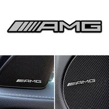 4 pçs excelente estilo do carro de áudio decorar para mercedes benz amg w463 w176 w211 w204 w210 w203 cla gla glk acessórios do carro