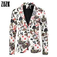 Новые мужские модные костюм вечерние пальто на каждый день Зауженный