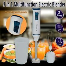 Hand Blender Electric Kitchen Portable Food Processor mixer juicer smoothies Immersion Multi function Of Quick dsp 220 240v handheld mixer multi functional stirrer 300w immersion hand blender set mini practical food mixer for kitchen