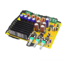 2.1 channel 300W+2*150W TAS5630 Class D Subwoofer digital amplifier board TAS5630 amplifier chassis case Housing  Enclosure DIY