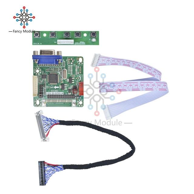 "Diymore MT6820 B universal lvds lcd montor tela controlador driver placa 5 v 10 "" 42"" computador laptor peças kit diy"