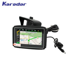 Karadar mt4302 мотоциклетный gps навигатор ipx7 водонепроницаемый