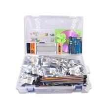 Livraison gratuite bricolage R3 projet complet Kit de démarrage avec CD de leçon pour Arduino