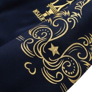Image 5 - 겨울 따뜻한 tracksuit 남자 세트 캐주얼 자 켓 정장 남자 브랜드 의류 망 땀 양복 두 조각 지퍼 스웨터 dropshipping