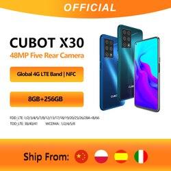 Cubot X30 смартфон 5 камер 48MP пять камер 32MP Фронтальная камера 6  128 ГБ/8 ГБ  256 ГБ NFC 6,4 FHD  Google Android 10 Глобальная Версия WIFI 2,4G/5G мобильные телефоны 4200...