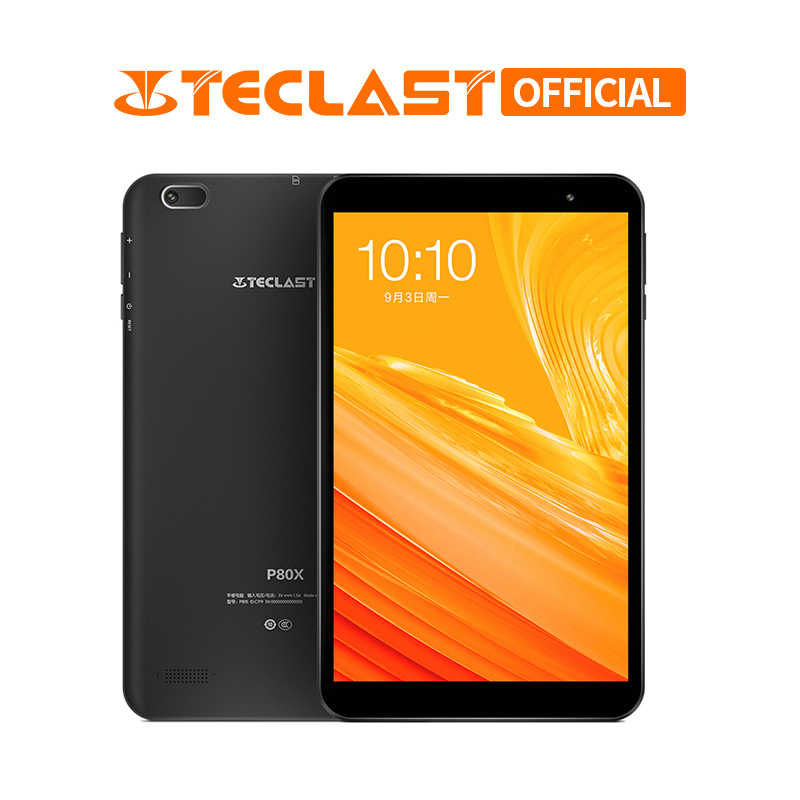 Tablette 8 pouces Teclast P80X 4G LTE tableur SC9863A Octa Core Android 9.0 GPS 2 go RAM 32 go ROM 1280x800 IPS tablette