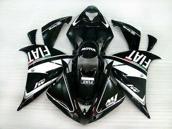Wotefusi ABS Bodywork Fairing Injection Molding For 2009 2010 Yamaha YZF 1000 R1 (YD)