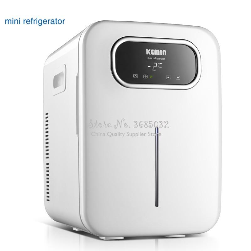 20L Mini Refrigerator Small Home Single Door Low Noise Car Mini Refrigerators Freezer Cooling Heating Box Fridge