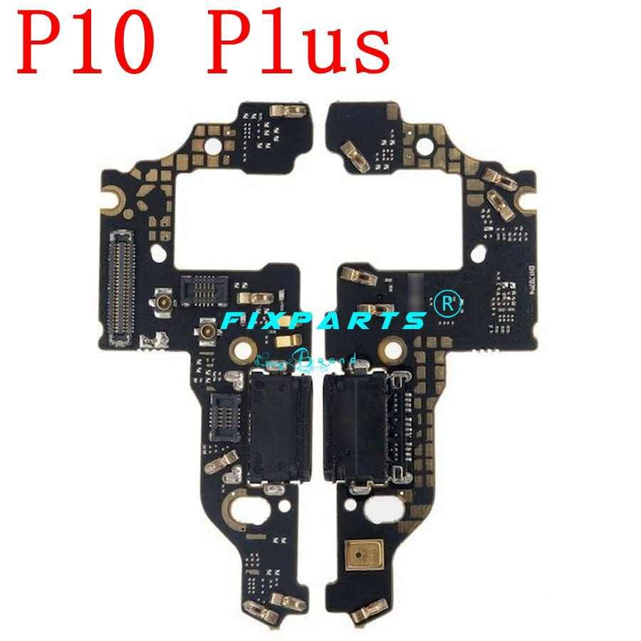 1 pièces pour Huawei P9 P10 lite Plus connecteur de quai USB chargeur de Port de charge câble flexible Module de Microphone carte HUAWEI P20 Pro P30