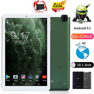 10inch Tablet Android Octa-Core PC 128GB 6GB 5000mah 6GB-ROM IPS Call-Phone Real-Ram