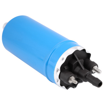 Blue High Pressure Electric Inline Fuel Pump with Installation Kit with coated shell for BMW E23 E24 E12 E28 E30 0580464038 image
