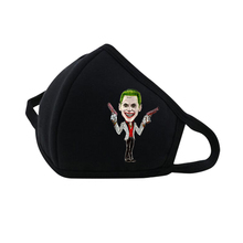 Super Hero comics Suicide Squad Mouth Face Mask woman man Printed Dustproof Breathable Winter Warm Thicken Mouth Mask