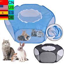 Small Animals Playpen Tent Portable Pet Tent Pet Dog Cage Ro