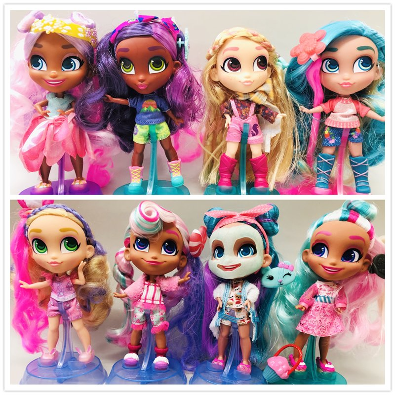 Original New 16cm Girls Beautiful Hair Princess Dolls Toy Cute Lovely Doll Christmas Gift Free Shipping